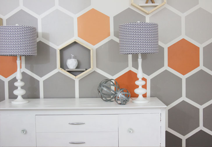 Honeycomb DIY Wall