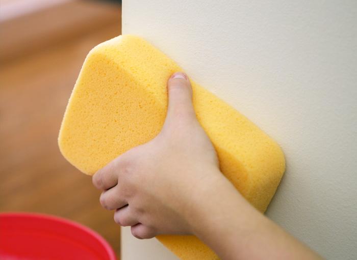 Preparación de lavado de pared