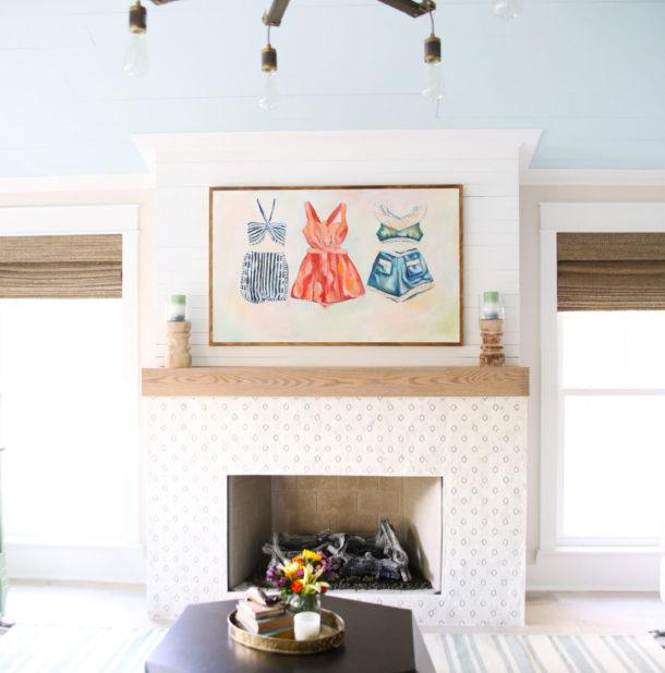 imagen de la renovación de una sala de estar de estilo bohemio