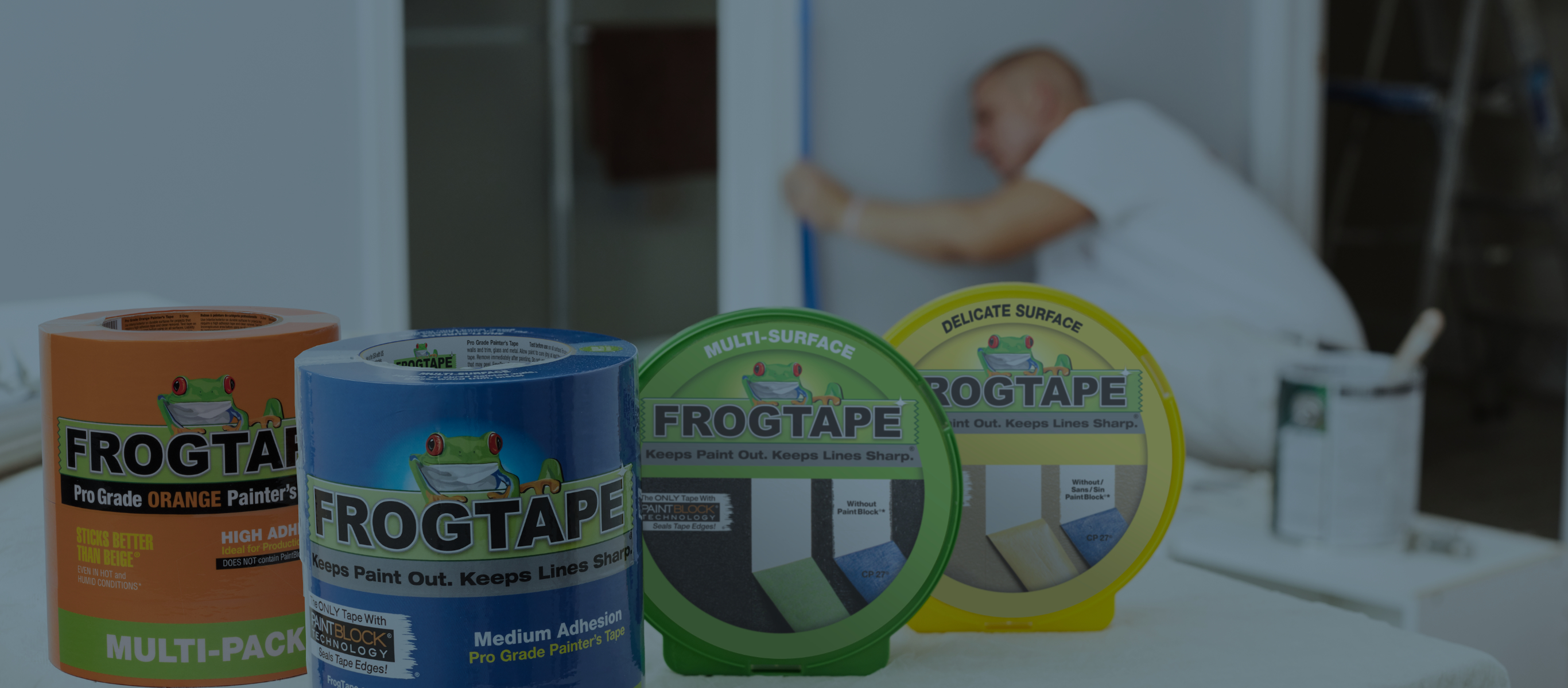 FrogTape® family of products.