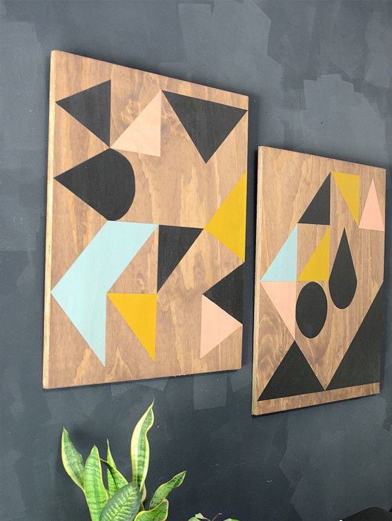 Wooden Art Panels | Frogtape