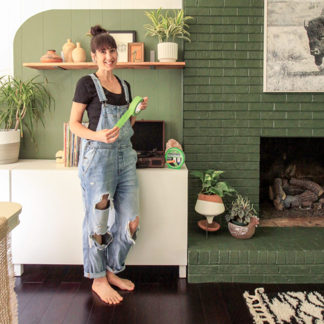 Cassie Bustamante Frogtape Lifestyle Photo