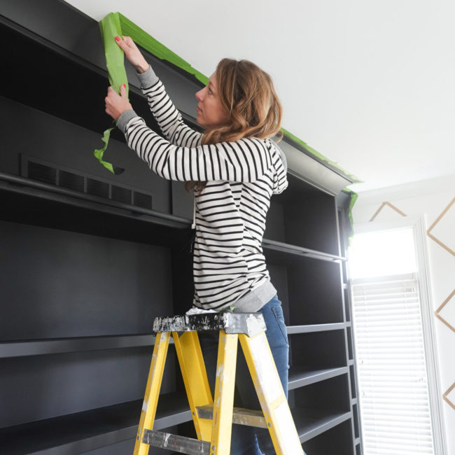 Frog Tape Painting Bookshelves Highres 3
